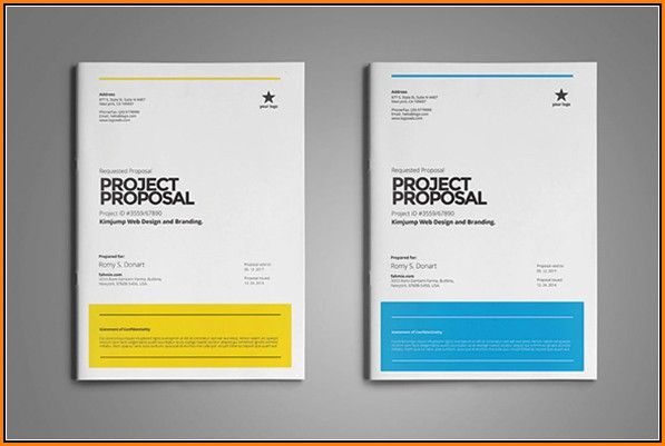 Proposal Template Design Free Download Word