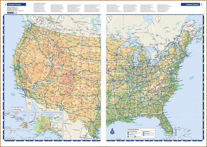 Rand Mcnally Road Map Usa