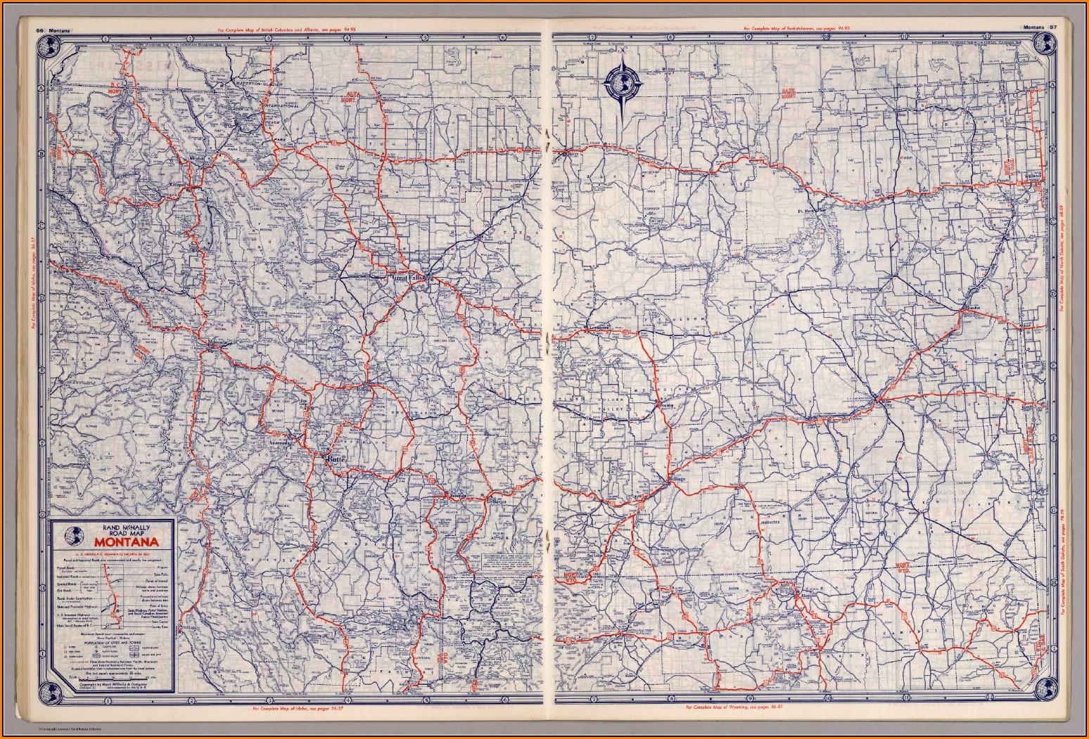 Rand Mcnally Road Map