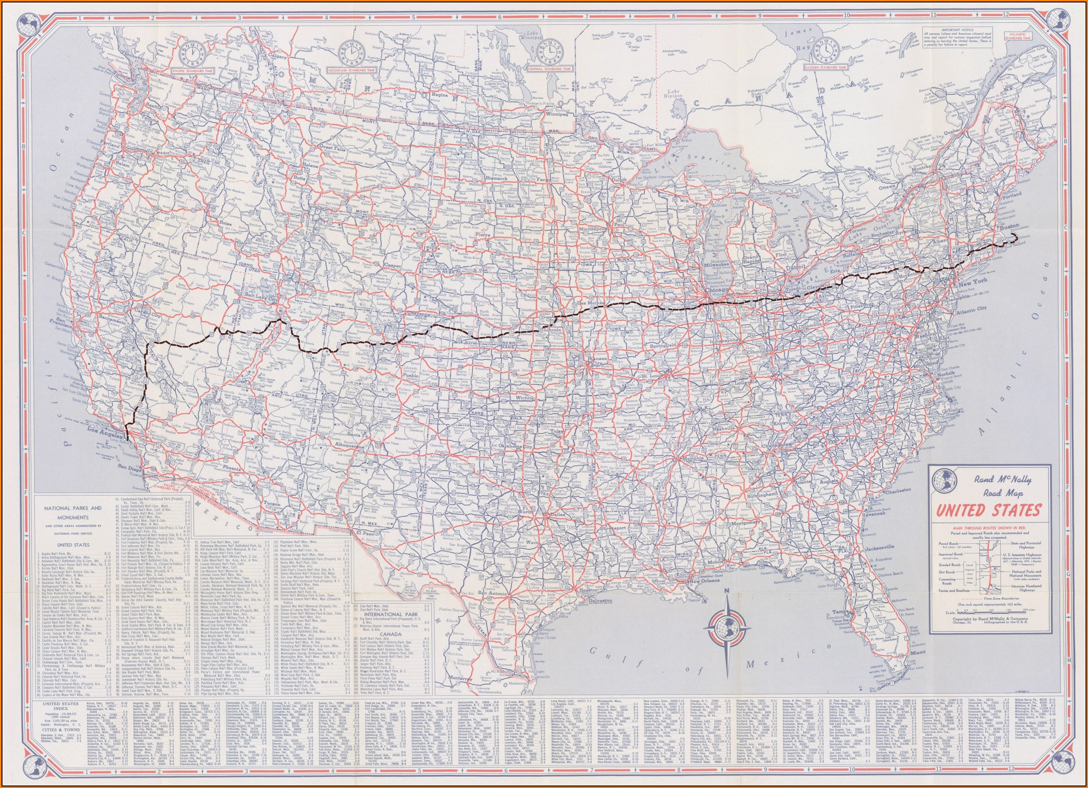 Rand Mcnally Road Maps