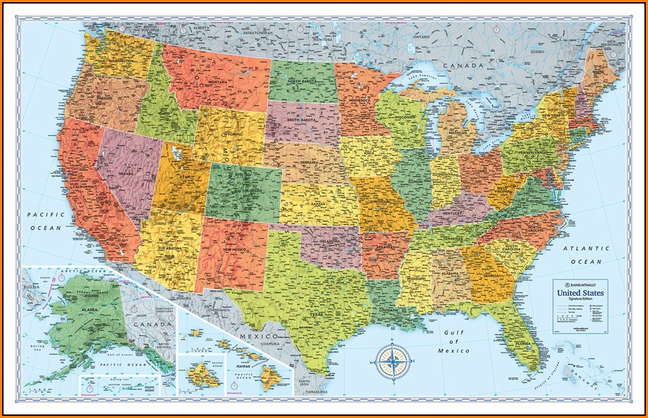 Rand Mcnally Usa Map