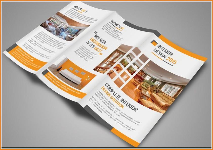 Real Estate Tri Fold Brochure Template Free
