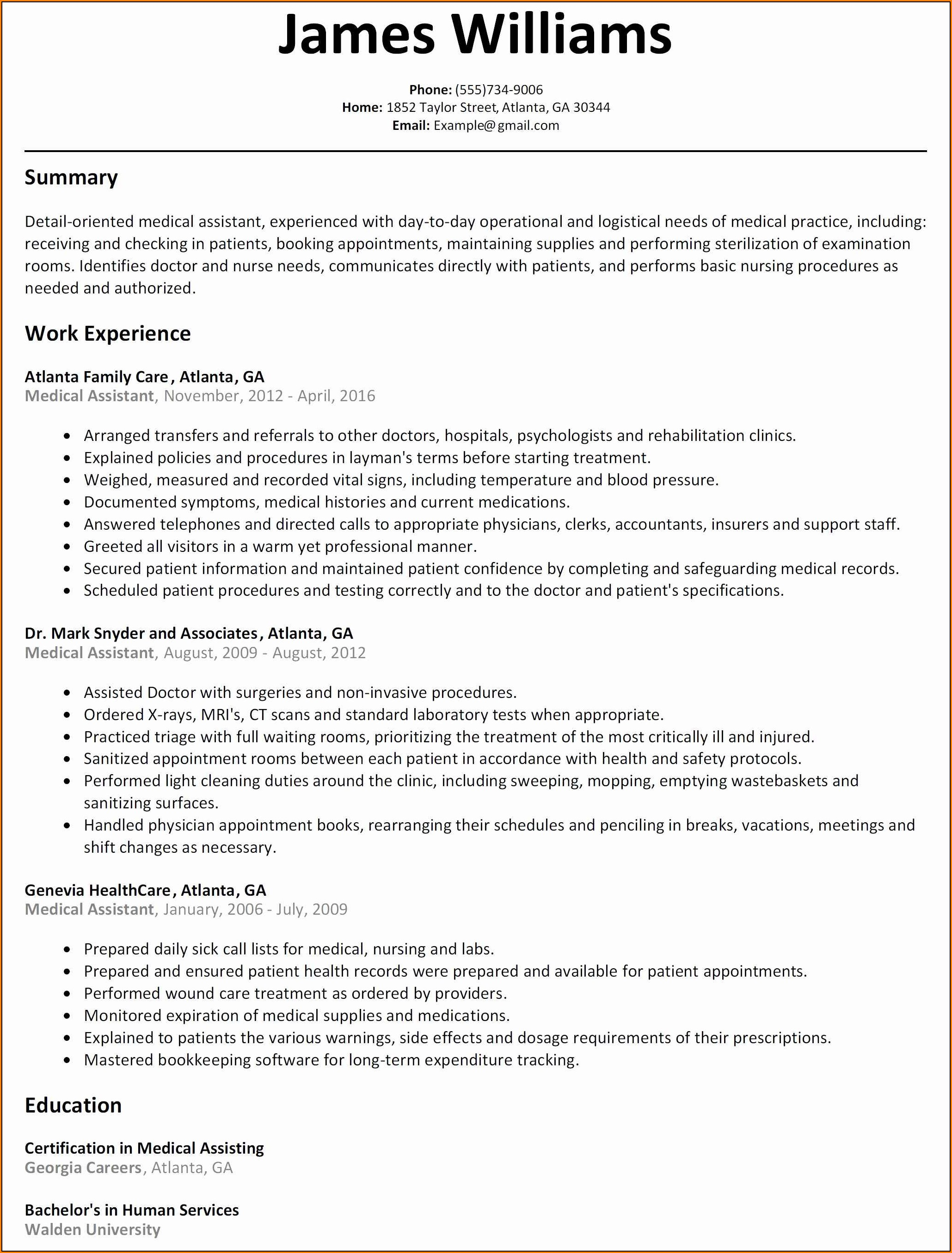 Resume Builder For Highschool Students