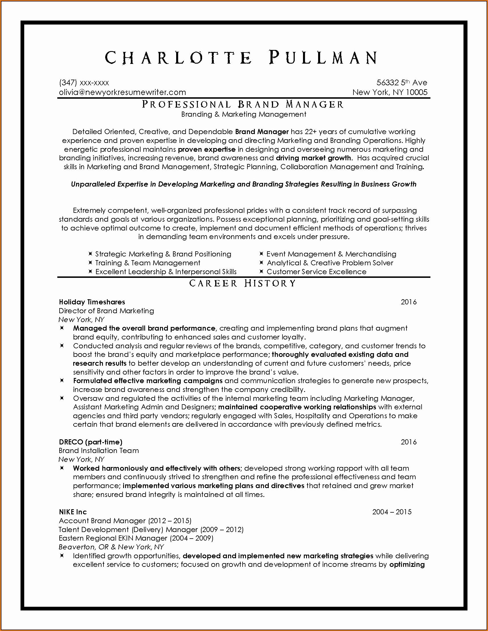 Resume Help Nyc