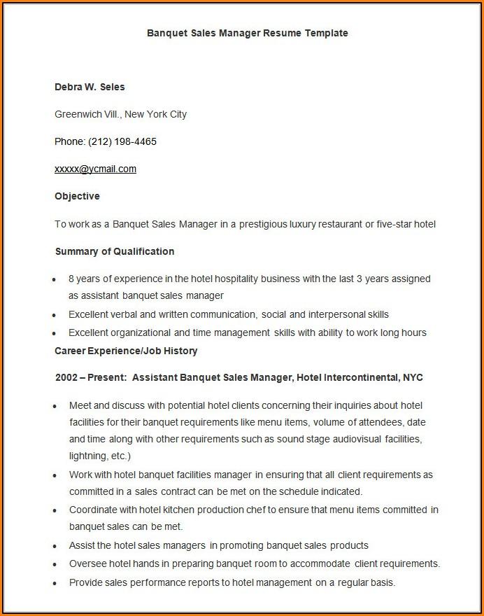 Resume Samples Free Download Word