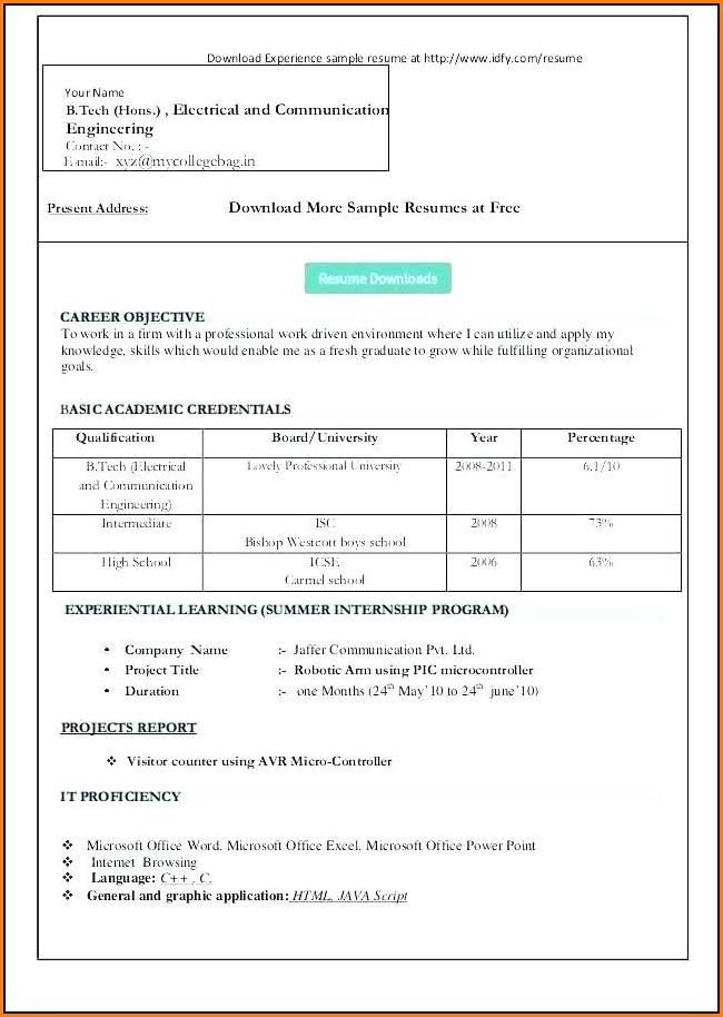 Resume Wizard Word 2007