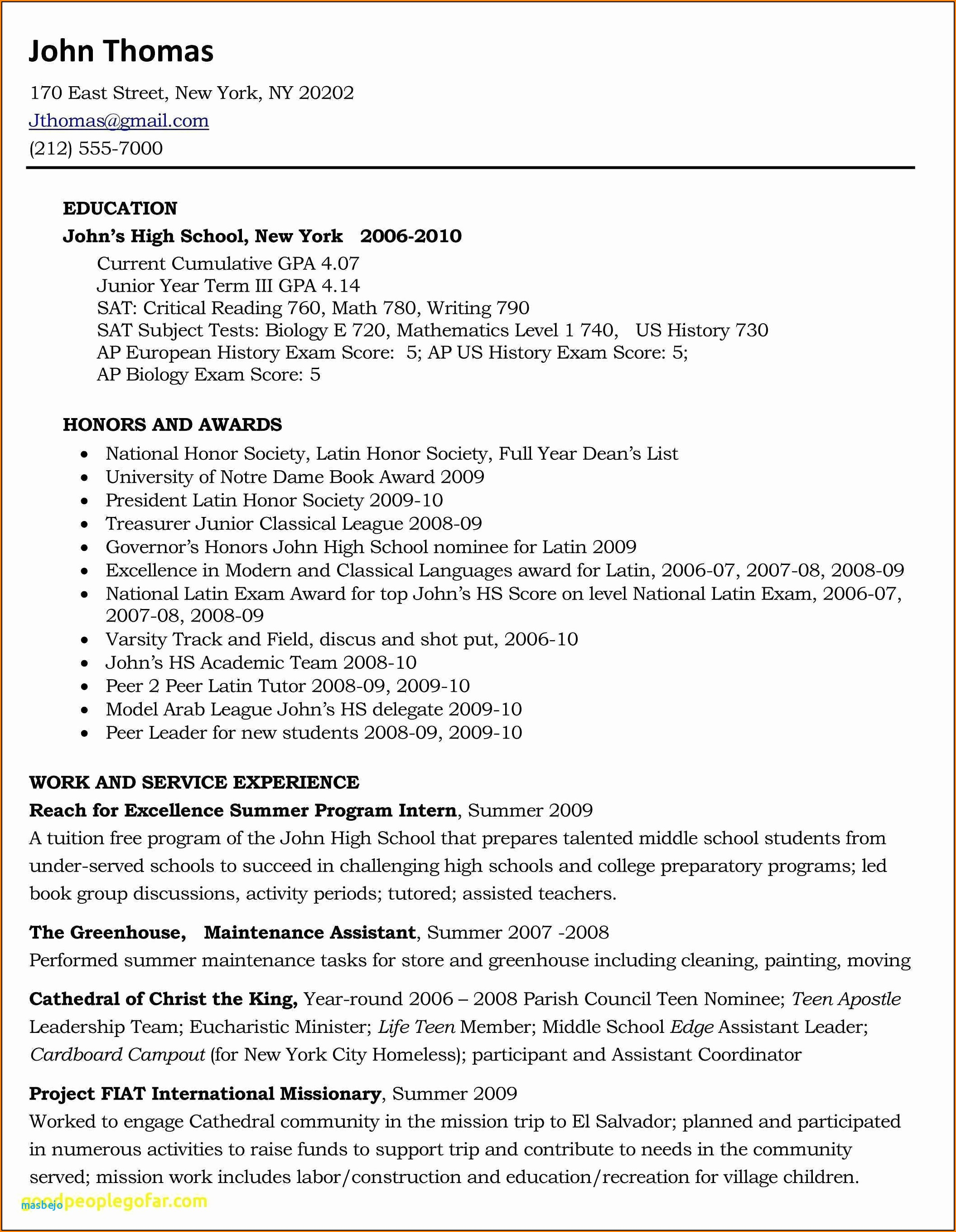 Resume Writers In Nyc
