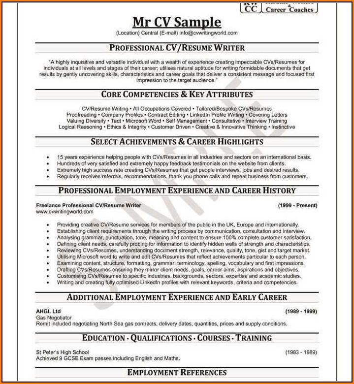 Resume Writing Linkedin Profile