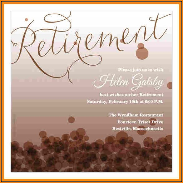 Retirement Announcement Templates