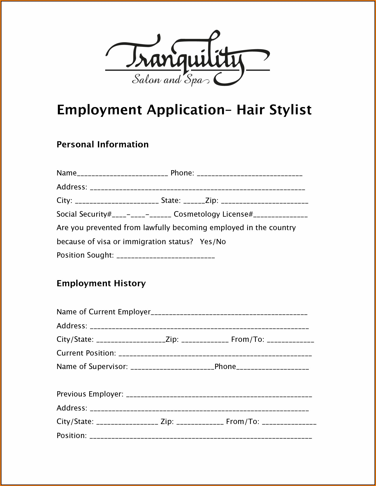 salon-job-application Job Application Form Safeway on free generic, part time, blank generic,