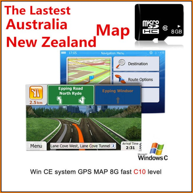 Sd Card Gps Map Navigation System