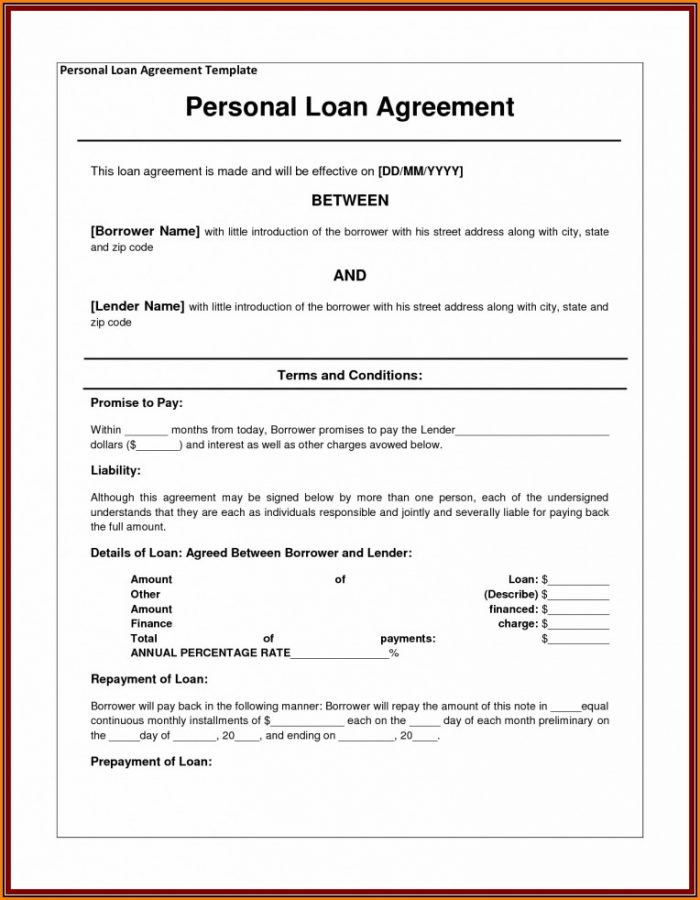 Shareholder Loan Agreement Template Canada