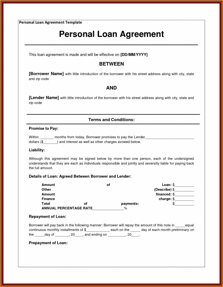 Shareholder Loan Agreement Template Canada