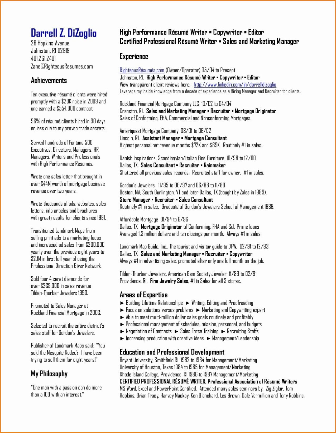 Top Resume Books