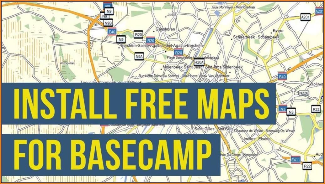Topo Maps For Garmin Basecamp