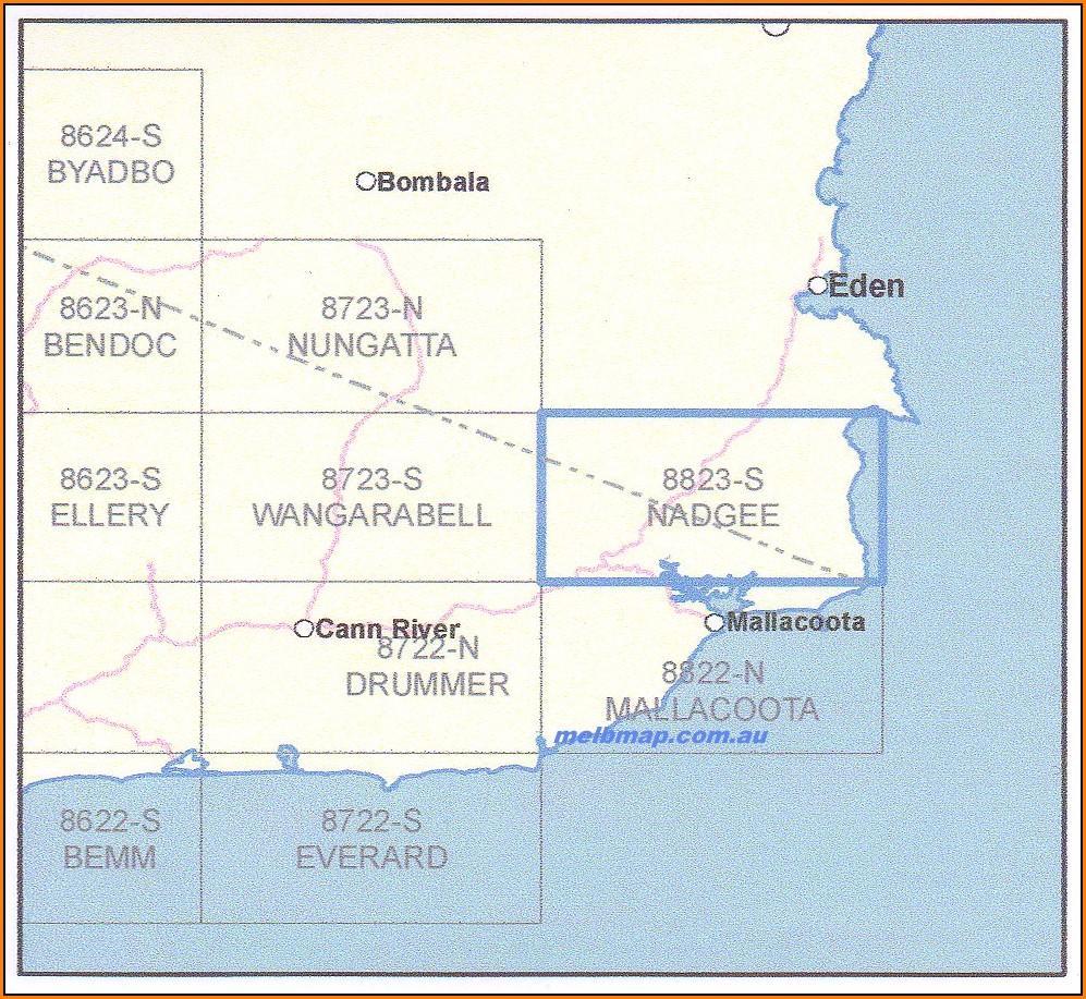 Topographic Maps Nz