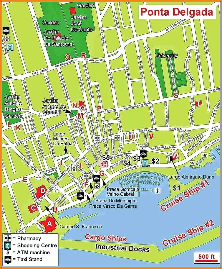 Tourist Map Of Panama City Beach Florida