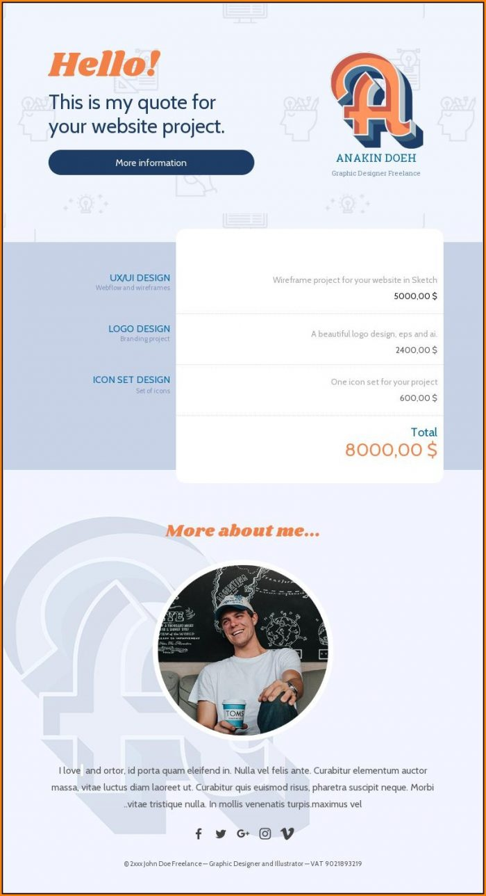 Transactional Email Template Free