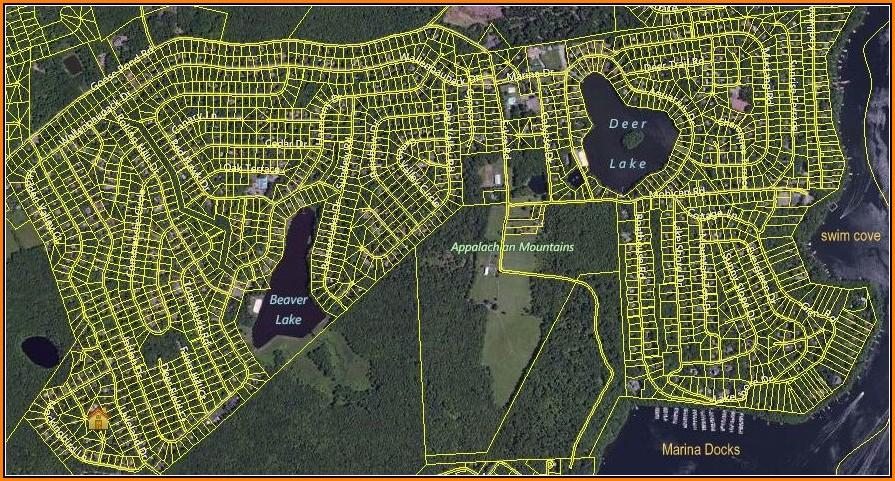 Wallenpaupack Lake Estates Map