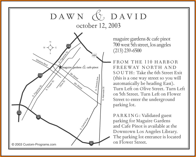 Wedding Invitation Map Maker