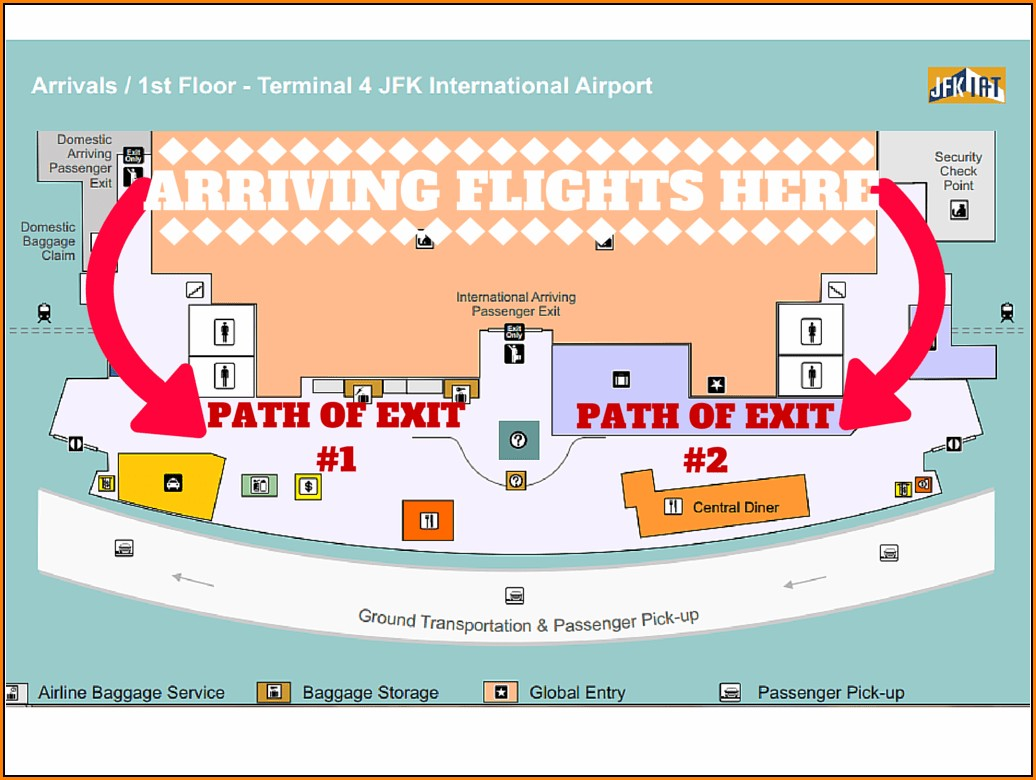 Westchester County Airport Terminal Map