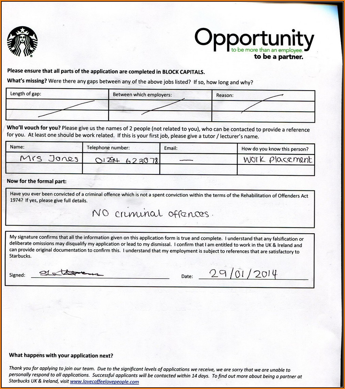 Cover Letter Starbucks: Www Starbucks Com Jobs Applications