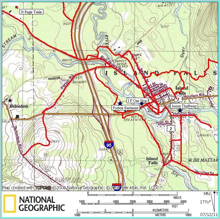 Atv Trail Maps Maine
