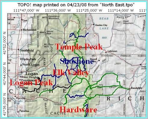Atv Trail Maps Utah