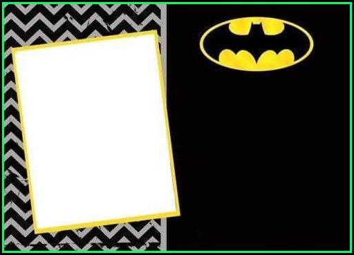 Batman Invitation Templates Free Download