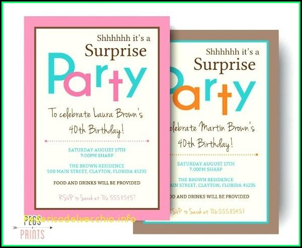 Birthday Invites Templates Microsoft