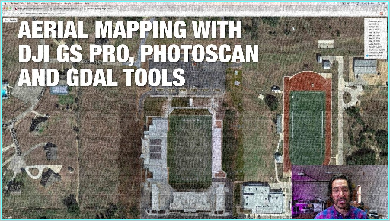 Dji Drone Aerial Mapping
