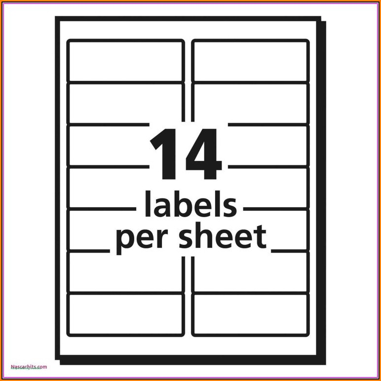 File Cabinet Label Template