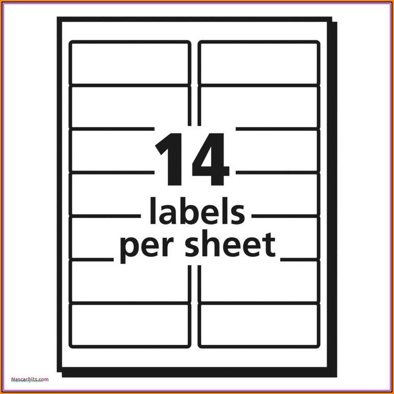 File Cabinet Label Template