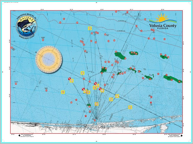 Florida Offshore Fishing Maps