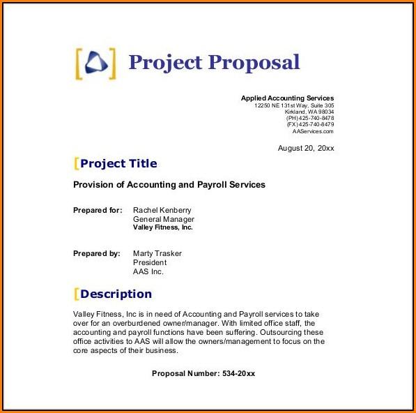 Free Business Proposal Template Pdf