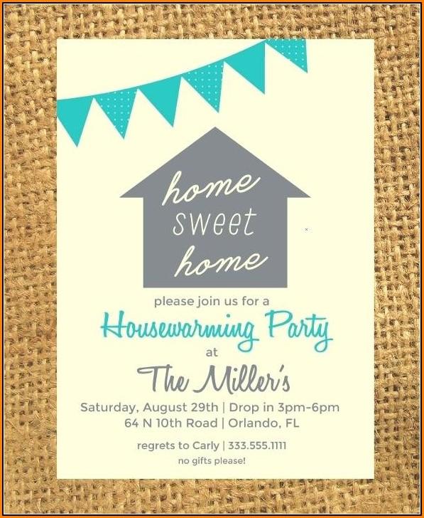 Free Downloadable Housewarming Invitation Templates