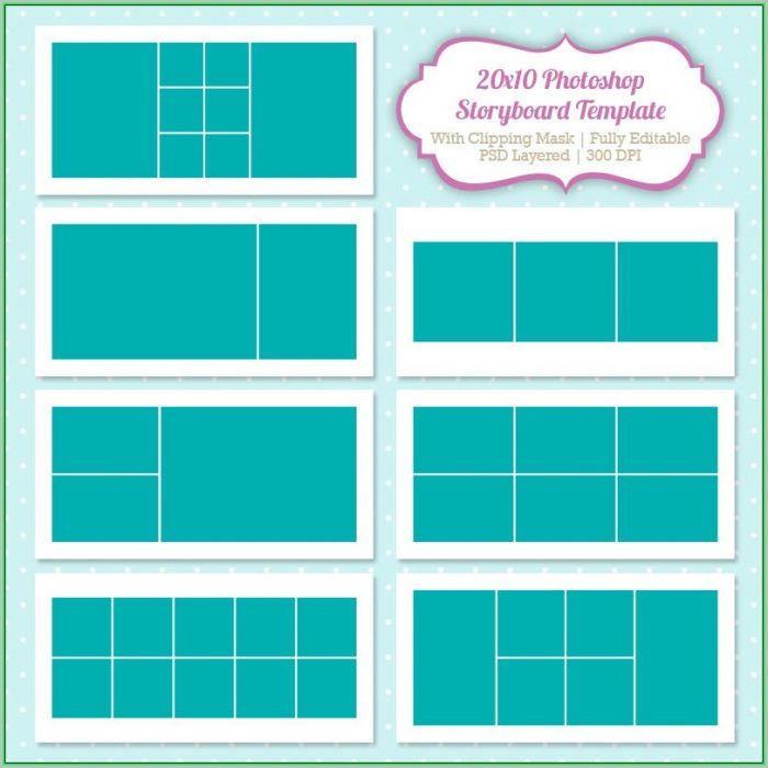 Free Photo Collage Templates For Photoshop