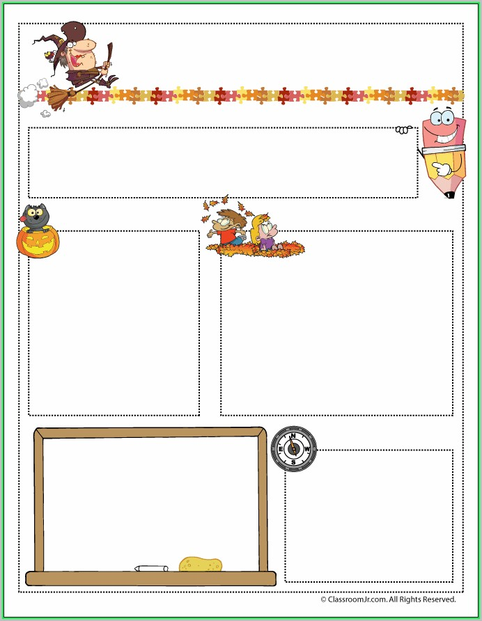 Free Printable Newsletter Templates For Teachers