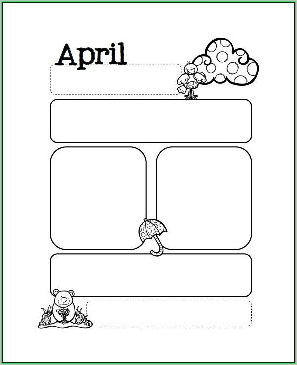 Free Printable Newsletter Templates Preschool