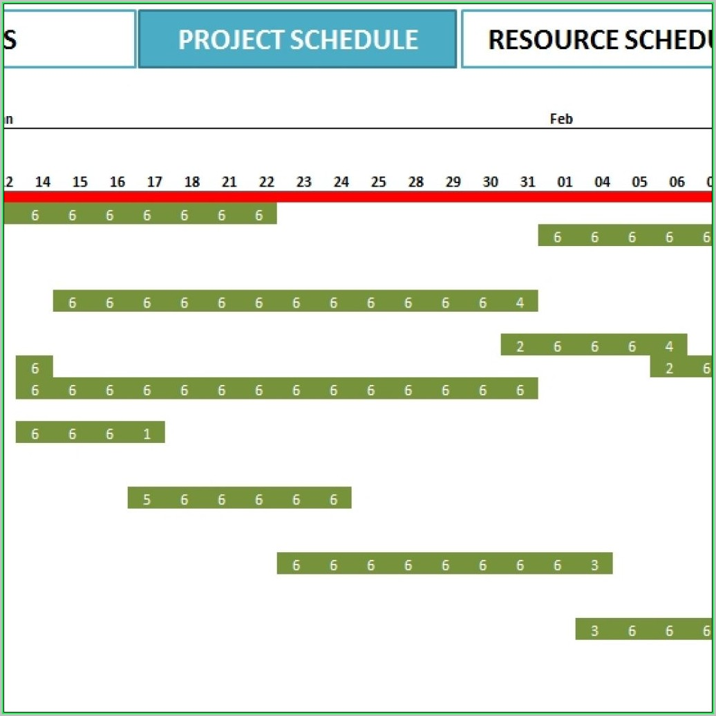 Free Project Plan Template Excel 2016