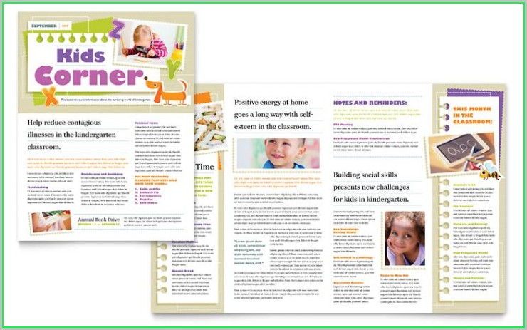 Free School Newsletter Templates For Publisher