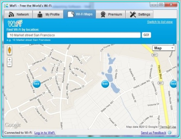 Free Wifi Mapping Tool