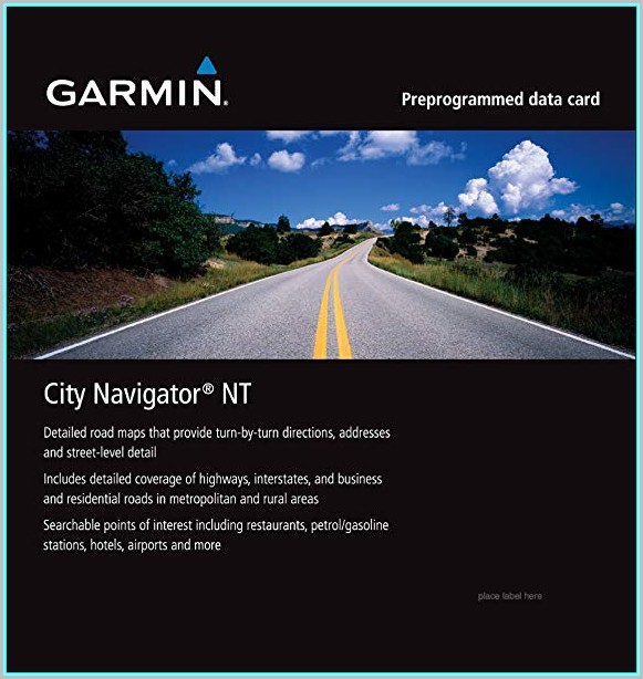 Garmin City Maps