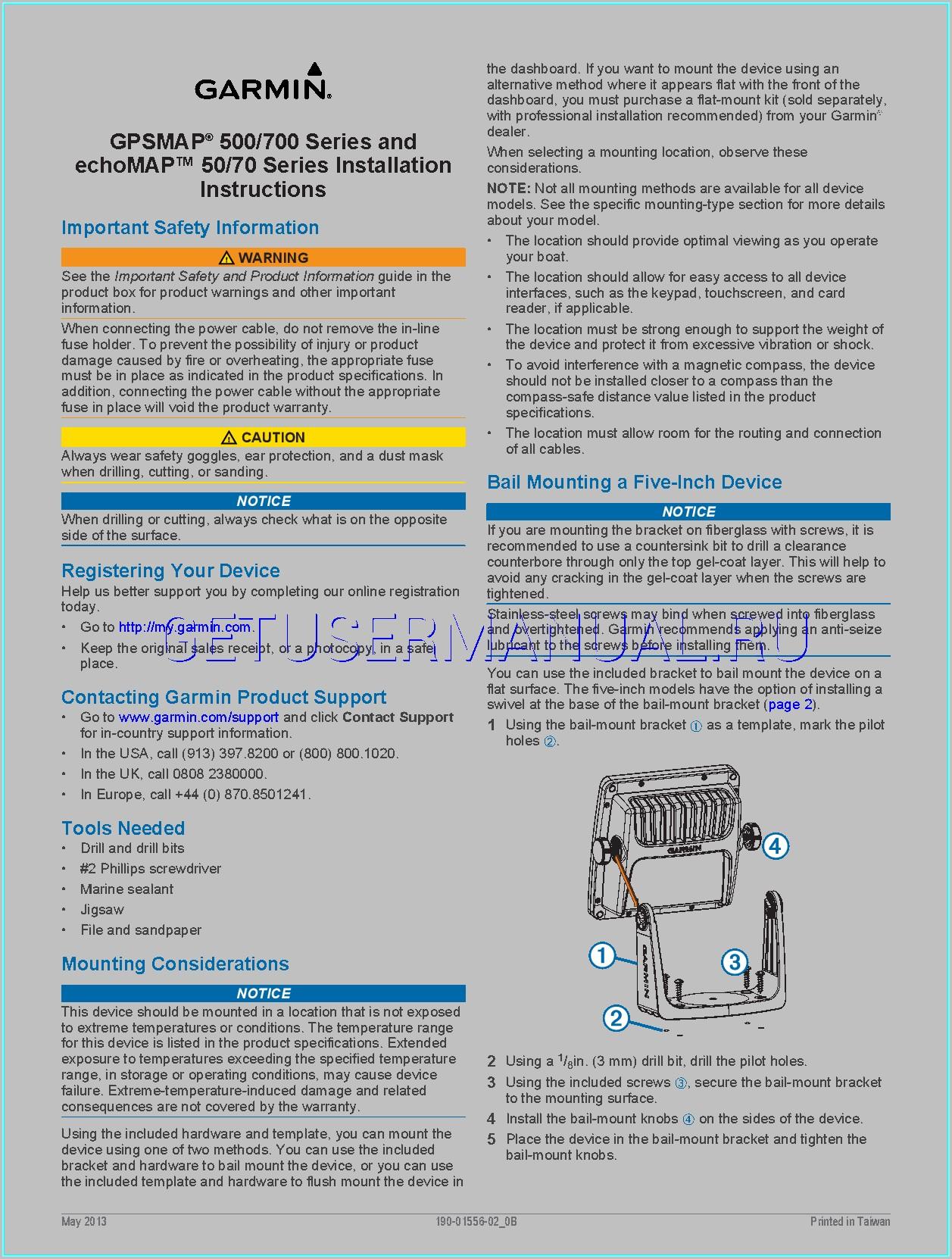 Garmin Echomap 70s Manual