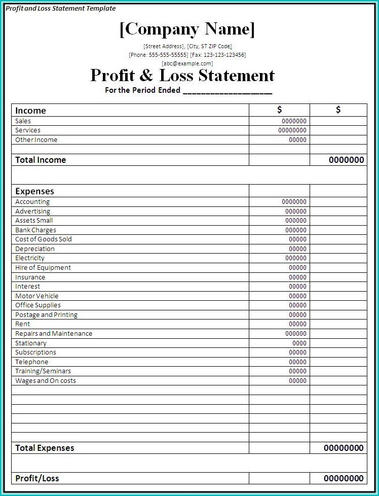 profit loss form form resume examples 7nyaow72pv