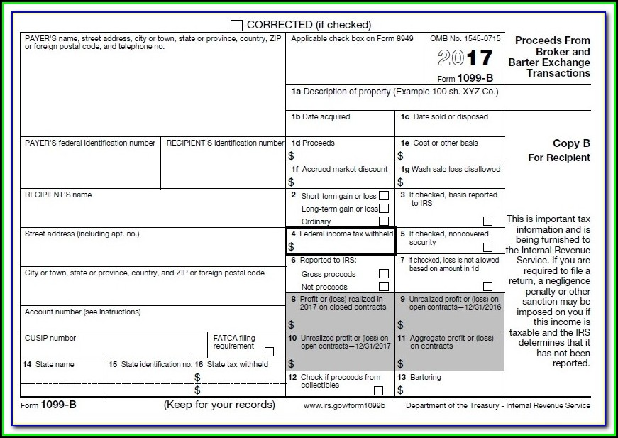 1099 Misc Fillable Form 2016