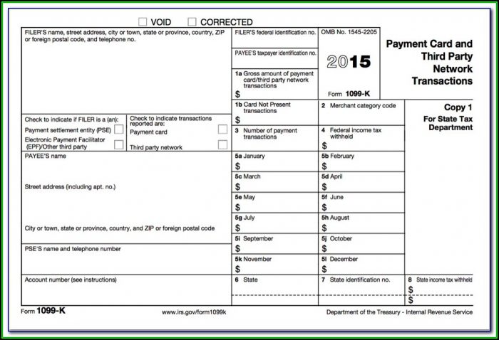2009 Form 1099 Misc Fillable Form