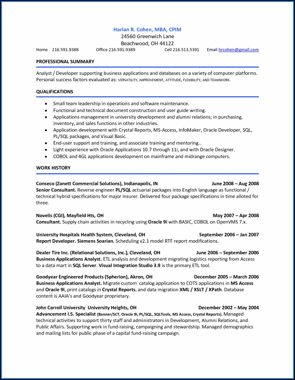 Accounts Payable Resume Summary
