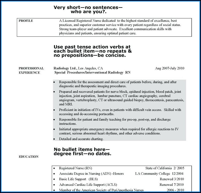 Anm Nursing Resume Format For Freshers Pdf