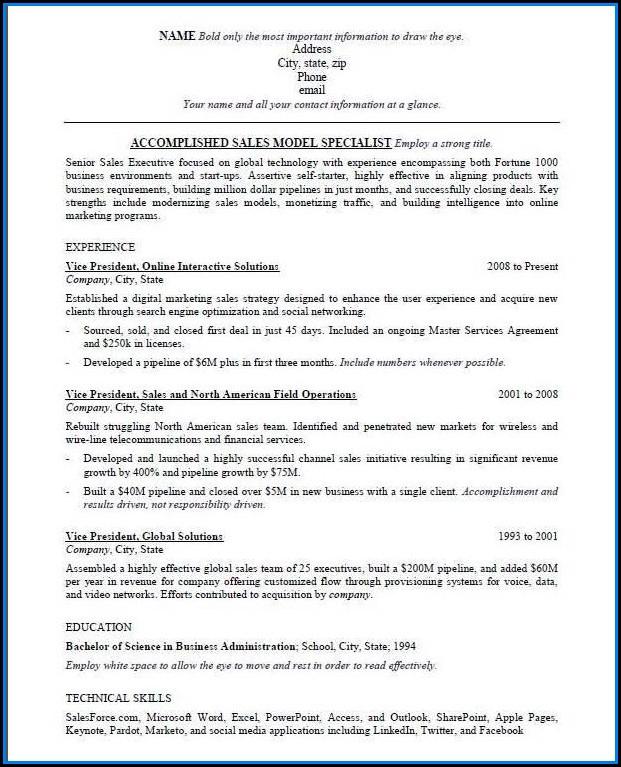 Ats Compatible Resume